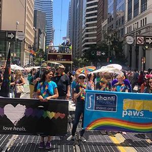 Shanti Contingent in SF Pride Parade 2019