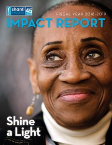 Shanti FY18-19 Impact Report Cover