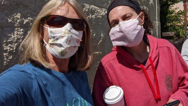 Jenna and Ingrid, CERV Volunteers