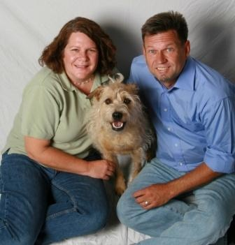 Pictured: Dr. Kathy Gervais and Dr. Ken Gorczyca (from the Shanti/PAWS archives)